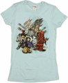 Star Wars Lego Group Baby Tee