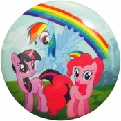 My Little Pony Trio Grass Button