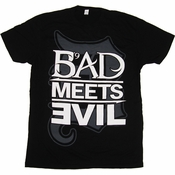 Bad Meets Evil Logo T Shirt Sheer