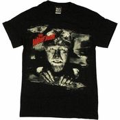 Wolf Man Red Name T Shirt