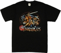 Thundercats Oval Group T Shirt