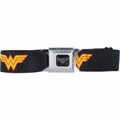 Wonder Woman Logo Seatbelt Mesh Belt