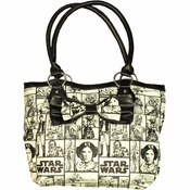 Star Wars Grid Bow Purse