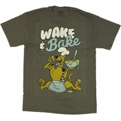 Scooby Doo Wake and Bake T Shirt