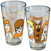 Scooby Doo Cast Pint Glass
