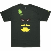 Green Arrow Face T Shirt