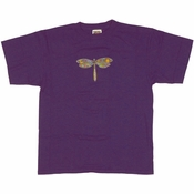 Grateful Dead Dragonfly Purple Youth T Shirt