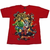 Marvel Youth Shirt