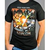Marvel vs Capcom Blast T Shirt