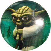 Star Wars Yoda Clone Wars Button
