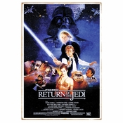 Star Wars Return of the Jedi Tin Sign