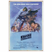 Star Wars Empire Strikes Back Tin Sign