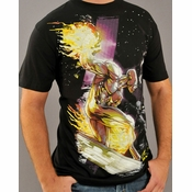 Silver Surfer Action T-Shirt