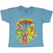 Yo Gabba Gabba Play Superhero Toddler T Shirt