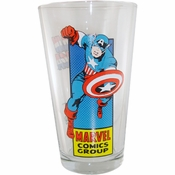 Captain America Silver Age Glass