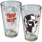 Friday the 13th Jason Mask Pint Glass
