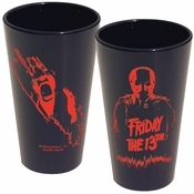 Friday the 13th Silhouette Glass