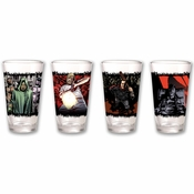 Walking Dead Comic Pint Glass Set