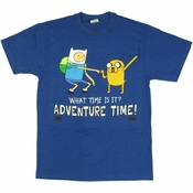Adventure Time Standing Dap T Shirt