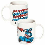 Captain America Name Mug