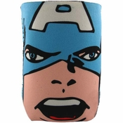 Captain America Face Can Holder