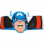 Captain America Head Rubber Wristband