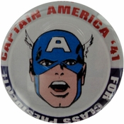 Captain America President Button