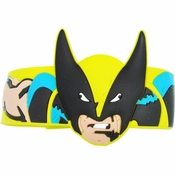 X Men Wolverine Head Rubber Wristband