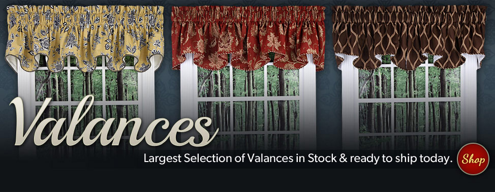 Discount Curtains, Valances & Window Treatments – Swags Galore