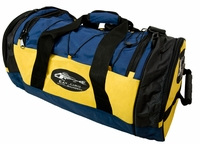 Grundens Eat Fish Gear Bag Navy/Yellow