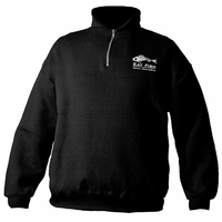 Grundens Gage Eat Fish 1/4 Zip Sweatshirt