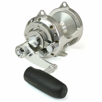 Avet EXW 30/2 Two-Speed Lever Drag Big Game Reel Left Hand Silver