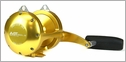 Avet EXW 30/2 Two-Speed Lever Drag Big Game Reel Left Hand Gold
