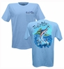Salt Life SLM185 Men's Aloha Marlin SS Tees