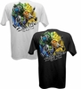 Salt Life SLM196 Men's Painted Reels SS Pocket Tees