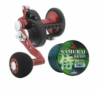 Free Daiwa 300yd 55lb Samurai Braid with Daiwa STTLD30HSH Reel Purchase