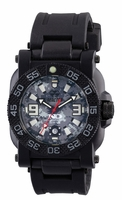 Reactor 73825 Gryphon Watch - Round Nitromid polymer/stainless Never Dark