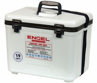 Engel UC19 Cooler/Dry Box 19Qt White