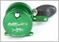 Avet SXJ 5.3 Single Speed Lever Drag Casting Reel Green