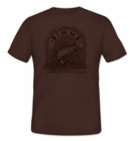 Simms PG-10123 Bishop Tarpon Banner Men's T-Shirt Earth