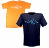 Salt Life SLM180 Men's Signature Deep Marlin Tees