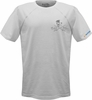 Salt Life SLM653 Men's Skull and Poles SLX SS Performance Tee