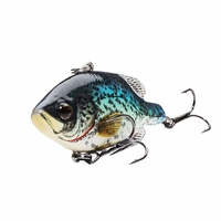 LIVETARGET Crappie Lipless Rattlebait Lures