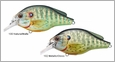 LIVETARGET Lures PSS70S Pumpkinseed Squarebill Shallow Dive 2 3/4""