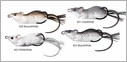 LIVETARGET Lures Field Mouse MHB60T Surface 2 1/4""