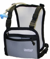 VestPac VPAC2PZC WilsonPac Hydration System with 3 Chest Pockets