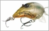 LIVETARGET Lures Crawfish Crankbait C64SB Sub-Surface 2 1/2""