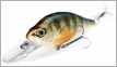 LIVETARGET Lures YPJ73M Yellow Perch Crankbait/Jerkbait Medium Dive 2 7/8""