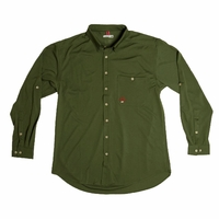 Montauk Tackle RT27Olv Light Weight Performance Shirt