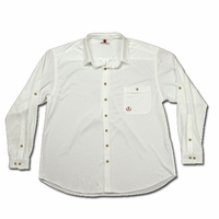 Montauk Tackle RT27Wht Light Weight Performance Shirt